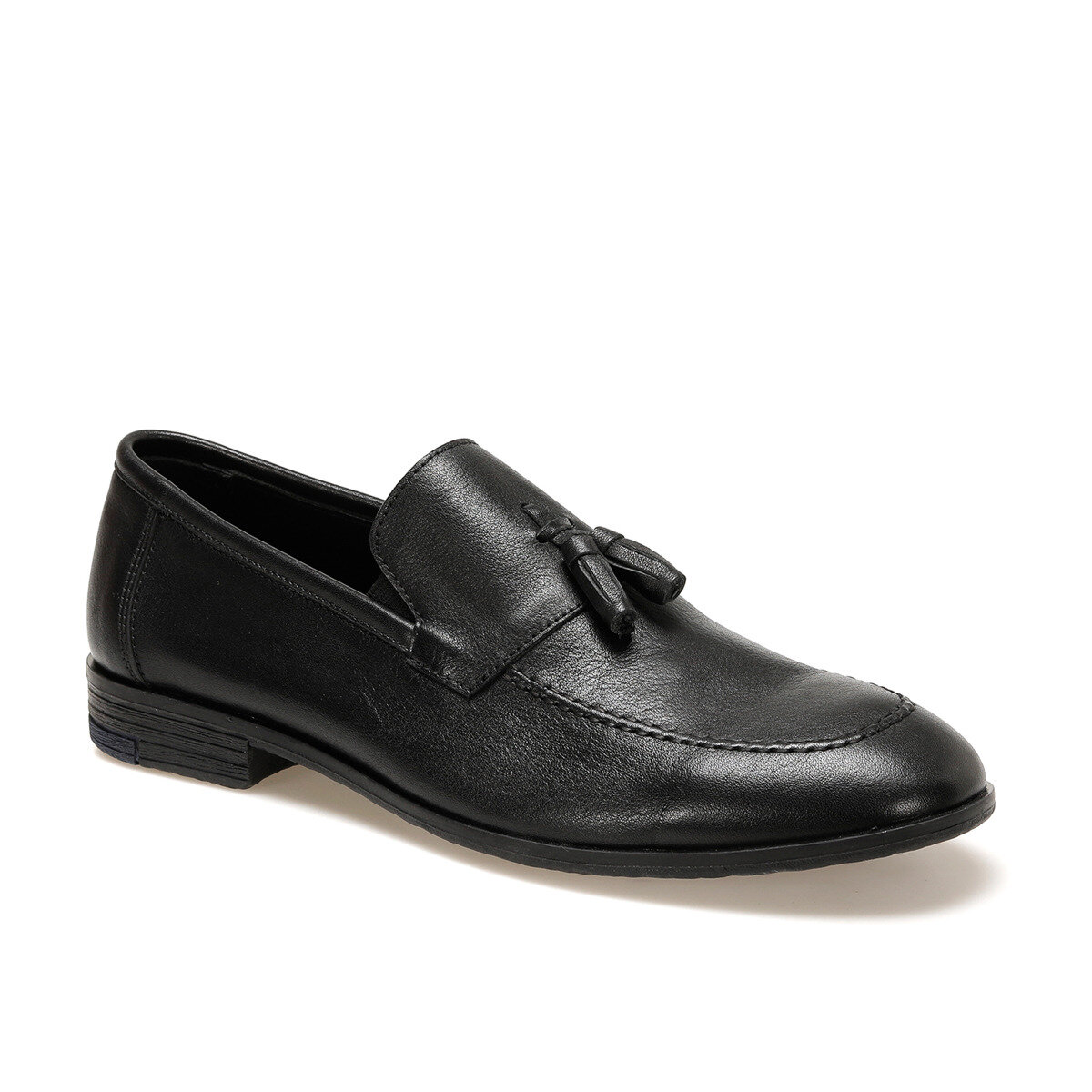 FLO 6621 Black Men Mocassin Garamond