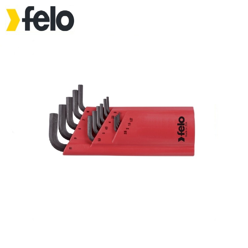 Фото - Felo Set of six-sided keys with ball ending 15 pcs 35515001 Allen wrench Used with headless screws Rozhkovy, cap, combined keys combined set of keys stayer 27081 h18