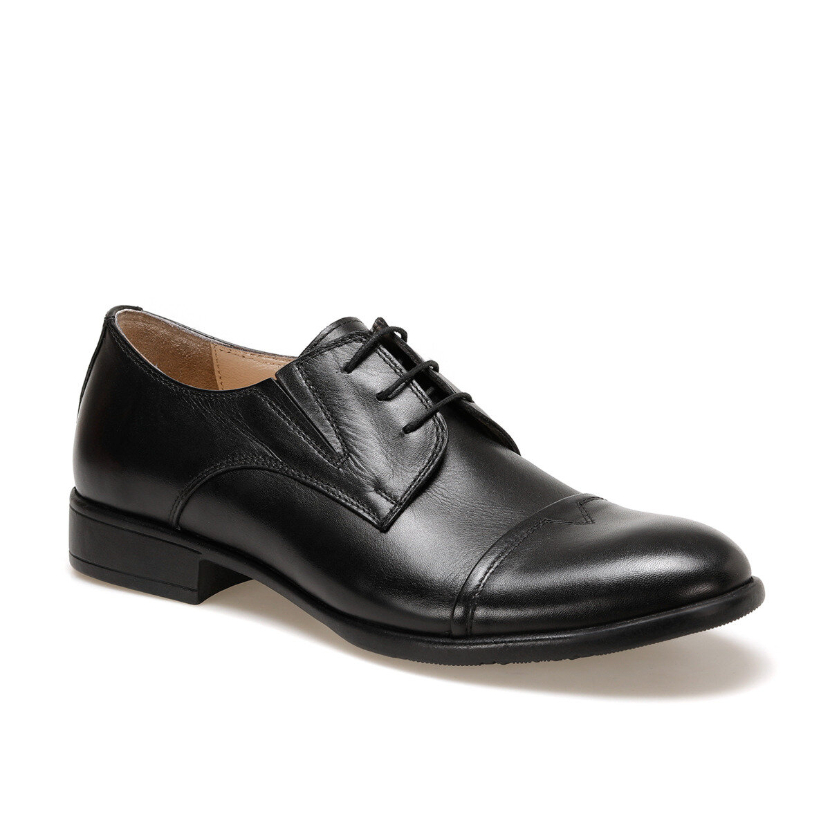FLO 308 Black Male Maskaret Shoes Garamond