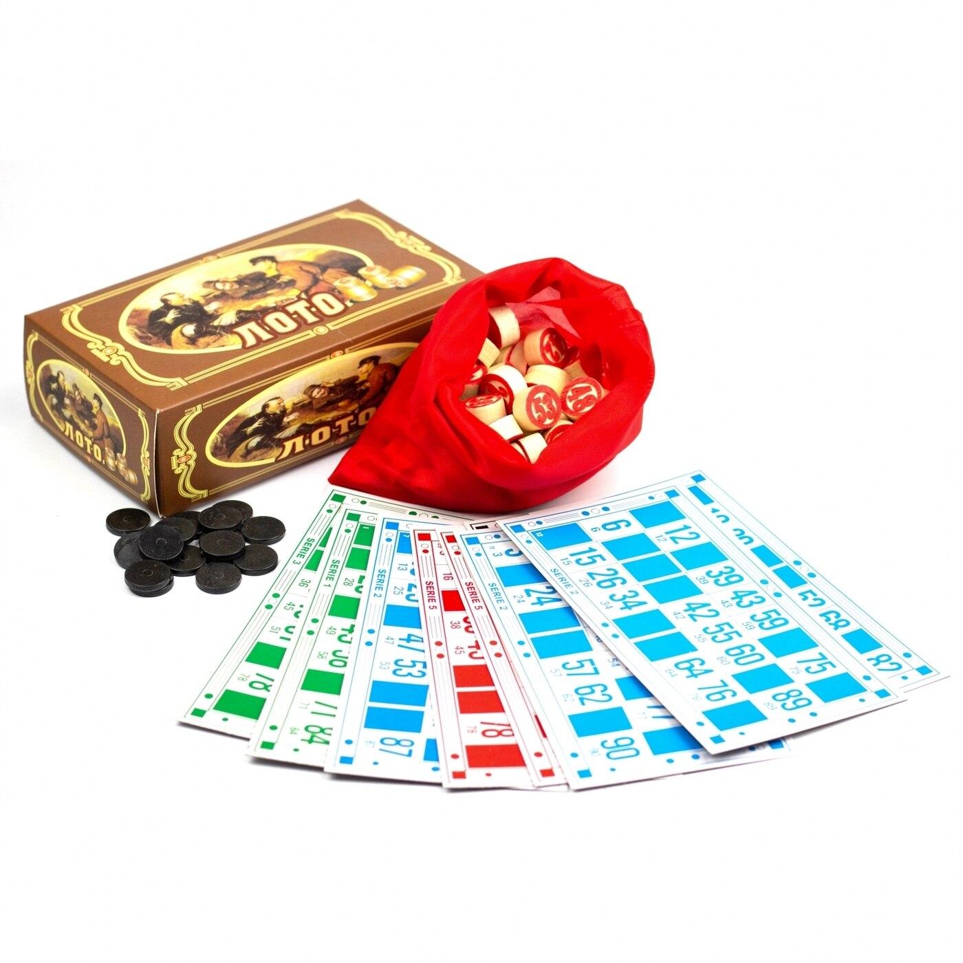 N Lotto On привале In картонном боксе