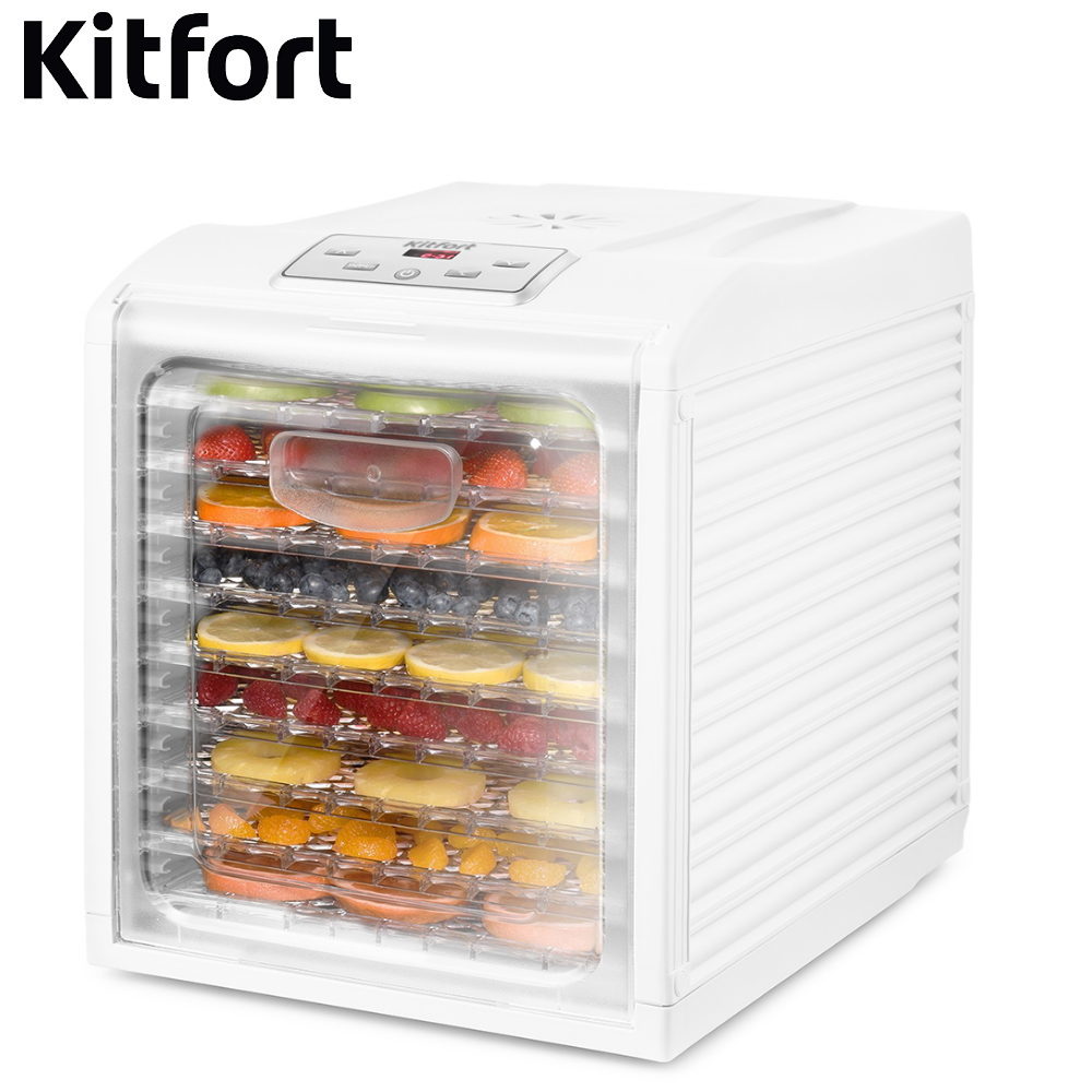 Dryer for vegetables and fruits Kitfort KT-1909 Dryer for vegetables and fruits Dehydrator for vegetables and fruits недорого