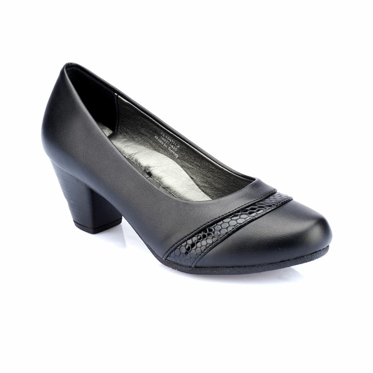 FLO 82.158111.Z Black Women Shoes Polaris