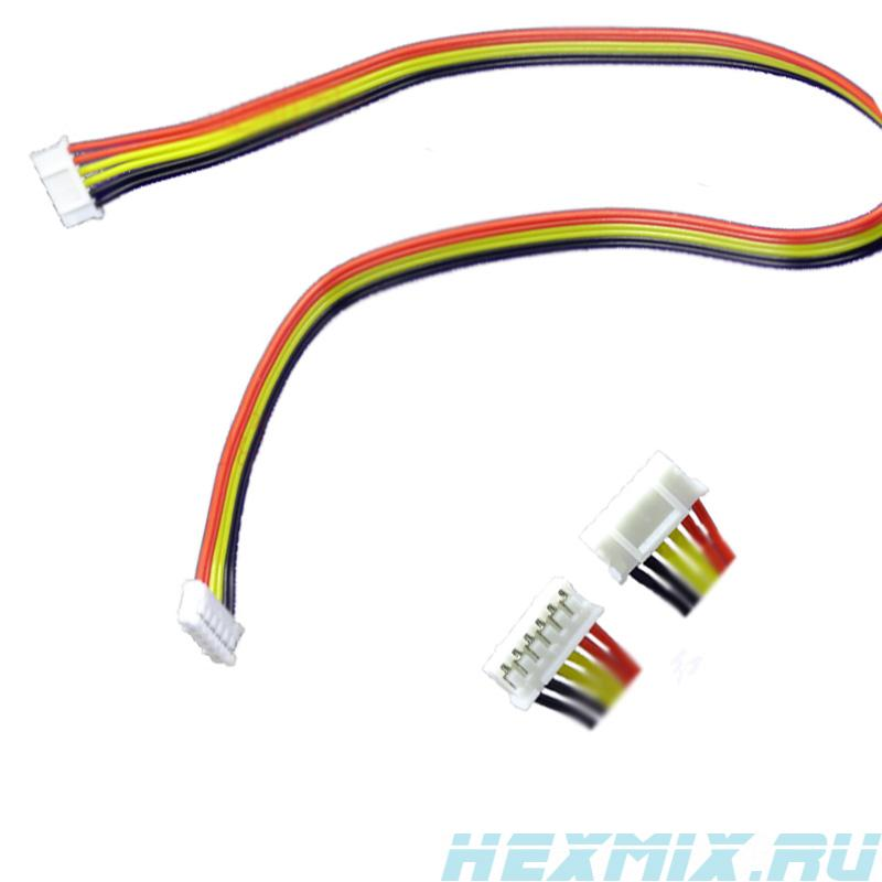 6-wire Cable Ph2.0 6 P 350mm
