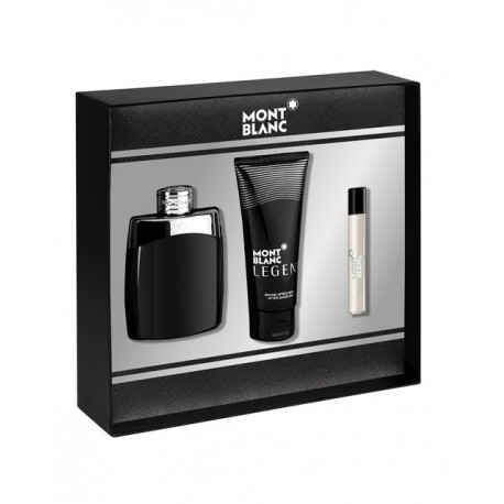 MONTBLANC LEGEND EDT 100ML + AFTER SHAVE 100ML + MINI 7,5ML