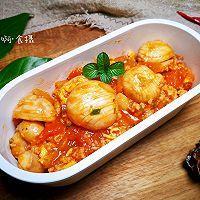 """#美食说出""""新年好""""#无米西红柿蘑菇鸡蛋烩饭~好吃低卡无负担的做法图解13"""