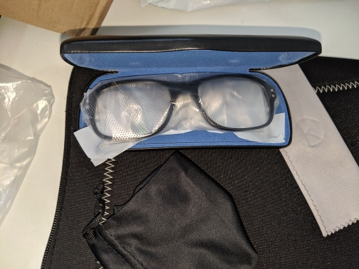 Armações de óculos Óculos Círculo Dourado