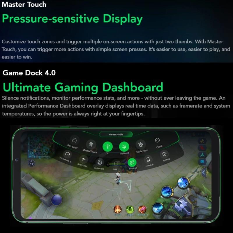 Xiaomi Black Shark 2 PRO 128GB ROM 8GB RAM GamingPhone (BrandNew/SealedBox) blackshark2pro blackshark Smartphone Mobile