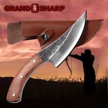 Cuchillo de deshuesar hecho a mano, cuchillos de cocina de Chef martillado, herramientas de barbacoa, carnicero, cuchillo de carnicero, artilugios de acampada al aire libre, Cocina Para el hogar