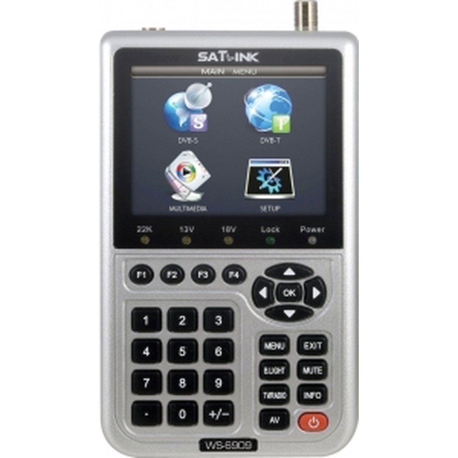 Meter-DIGITAL TV analyzer DVB-T(TDT) and DVB-S (satellite) <font><b>SATLINK</b></font> <font><b>WS</b></font>-<font><b>6909</b></font> image