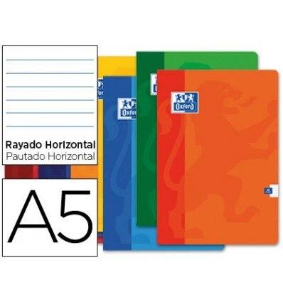 SCHOOL BOOK OXFORD 48 H DIN A5 1 HORIZONTAL STRIPE 10 Units