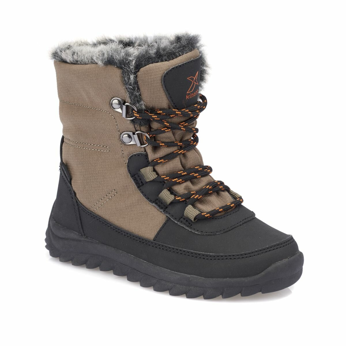 FLO RALF WP Khaki Male Child Boots KINETIX