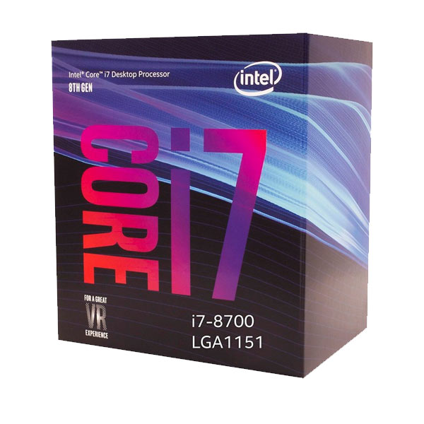 CPU Intel I7 8700 Socket 1151 3.2 GHz Coffe Lake 8ªgn 12 MB Cache IGPU 65wat 64 Bit image