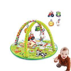 Babyjem Gaming Mat, Met Speelgoed, Zoo Ontwerp, Baby Spelen Mat, Activiteit Gebied, Zacht, leuk Ontwerp, Kleur, Plezier En Tutorial