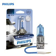 For H3 12 V-55 W (PK22s) (white bright light) crystal Vision blister card (1 PCs) 12336CVB1
