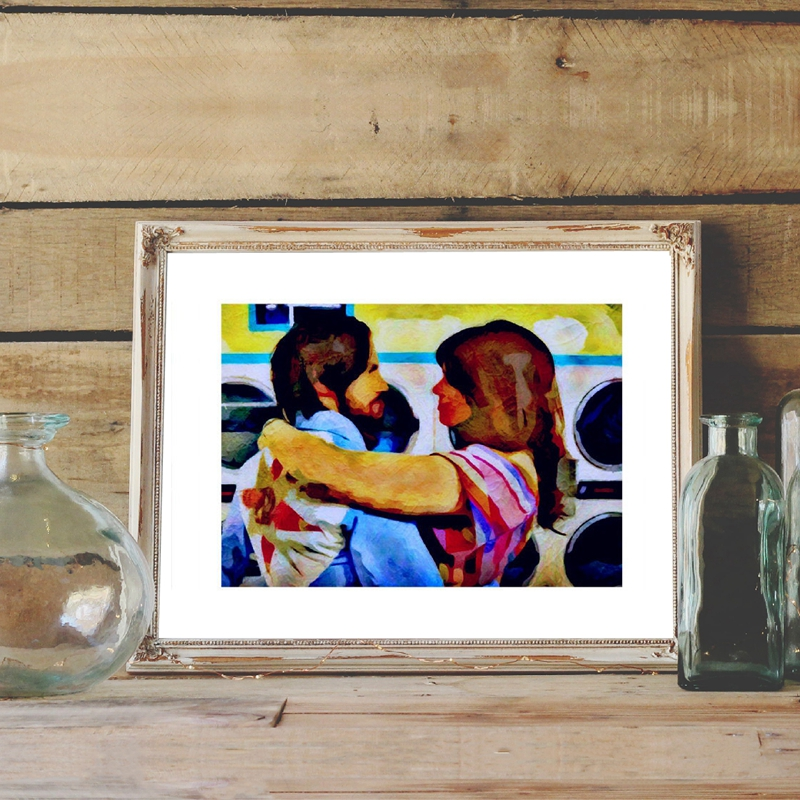 JACK AND REBECCA Inspired by This Is Us Canvas Painting Home Decor