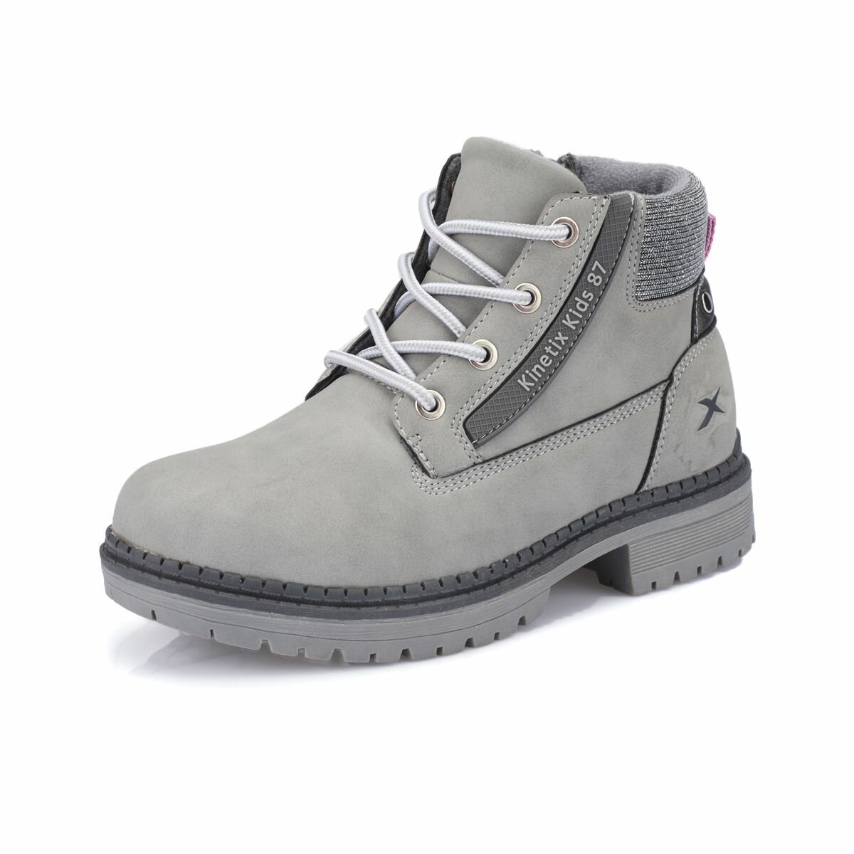 FLO BENMAR Gray Female Child Boots KINETIX