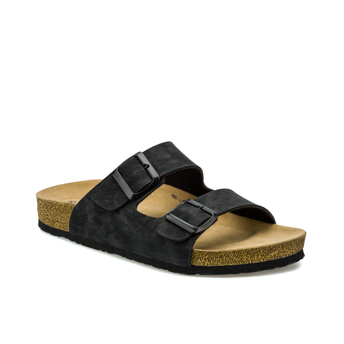 FLO ATEN Black Male Slippers KINETIX
