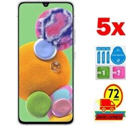 5x Protectors Screen szkło hartowane dla A90 2019 5G (nie pełne patrz informacje) zestaw