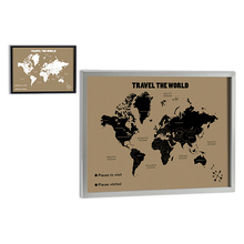 Painting Gift Decor Travel the World (73 x 53 cm)