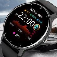 CanMixs 2021 Neue Smart Uhr Frauen Männer Dame Sport Fitness Smartwatch Schlaf Herz Rate Monitor Wasserdichte Uhren Für IOS Android