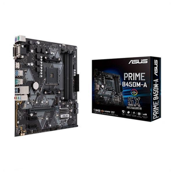 Motherboard Asus PRIME B450M-A mATX AM4