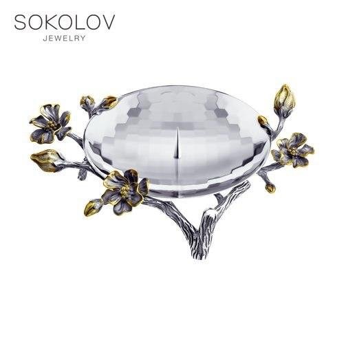 Candlestick Sokolov, Fashion Jewelry, Silver, 925, Women's/men's, Male/female
