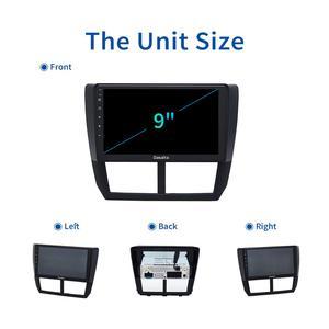 "Image 5 - Dasaita 9"" IPS Car Multimidia Android 10.0 for Subaru Forester WRX 2008 2009 2010 2011 2012 Radio GPS Navigation TDA7850 MAX10"