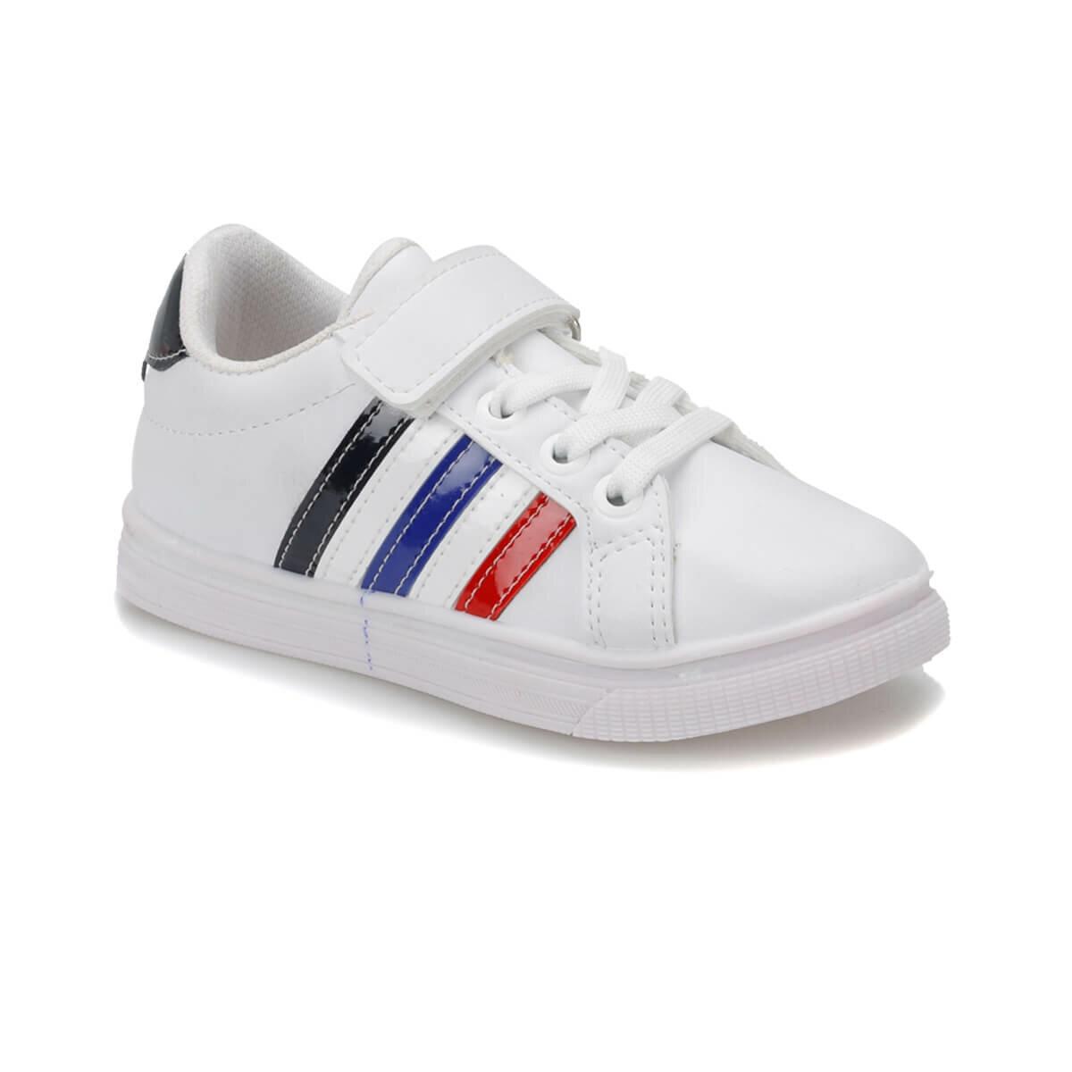 FLO DESMOND White Male Child Sneaker Shoes I-Cool