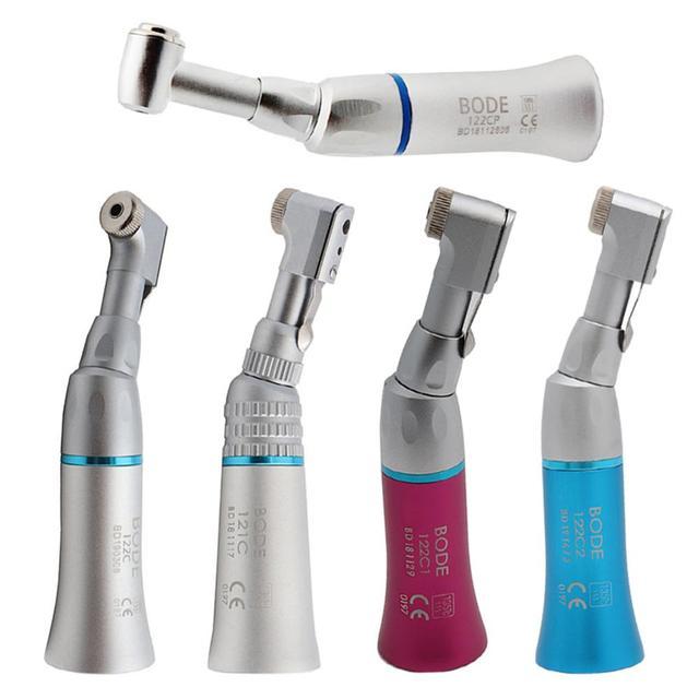 Zahn Niedriger Geschwindigkeit Handstück Air Turbine Contra Winkel Handstück Push Botton Dental Handstück BODE 122CP