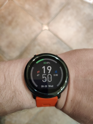 NEW Amazfit Pace Smartwatch Amazfit Smart Watch Bluetooth Music GPS Information Push Heart Rate For Xiaomi phone redmi 7 IOS-in Smart Watches from Consumer Electronics on AliExpress