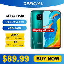 Cubot Smartphone 64GB LTE/GSM/WCDMA Octa Core Face Recognition/fingerprint Recognition