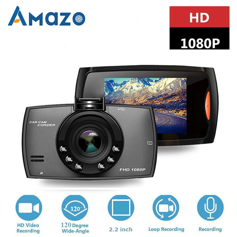 Driving-Recorder Car-Dvr-Camera Dashcam Video-Registrars Cars Night-Vision 1080P Full-Hd