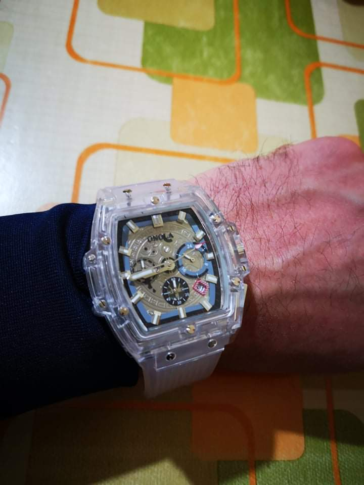 -- Casual Quartzo Relógio