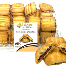 Lazarus Mini artisan curly biscuits filled with cocoa 250g