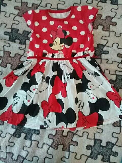 Girls Dresses 2018 New Girls Costumes Minnie Dot Children's Dresses Tutu Princess Children's Dresses|casual girls clothes|girls clothescinderella dress - AliExpress