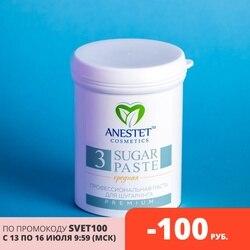 Паста сахарная, шугаринг, средняя 3, 330 гр, ANESTET депиляция, лучше, чем воск и крем, удаление волос