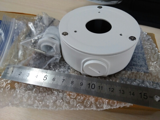 DAHUA PFA134 Ohun elo Aluminiomu Ohun elo Omi Ẹri Apoti Apoti DH PFA134 fun IPC HFW1320S IPC HFW1431S & IPC HFW2325S W Kamẹra IP