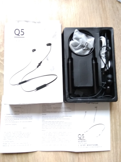 LYMOC Q5 Bluetooth Earphones Sport Wireless Headphone 48Hrs Talktime Neckband Stereo Headsets Running for iPhone Samsung Huawei|Phone Earphones & Headphones|   - AliExpress