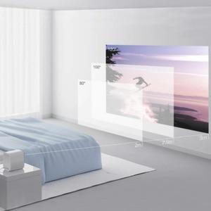 Image 3 - ミスマートフォンコンパクトプロジェクター (ポータブル 1920*1080 サポート 4 4k ビデオ wifi プロジェクター led ビーマーテレビフル hd ホームシネマ用オフィス)