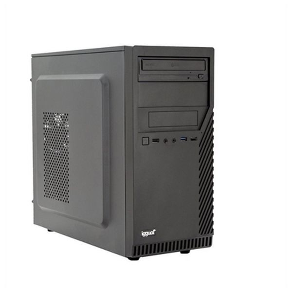 Desktop PC Iggual PSIPCH423 I3-8100 8 GB RAM 1 TB HDD W10 Black