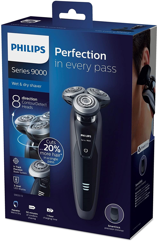 Бритва Philips серии 9000, для влажного и сухого бритья с SmartClean S9031/26 от Philips (руководство на английском языке) 6
