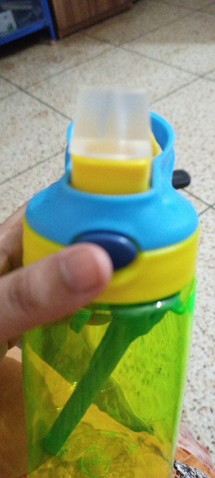 New hot Fashion 480 ml Cute Baby Water Cup Leak Proof Bottle with Straw Lid Children School Outdoor Drinking Bottle Training Cup|Water Bottles|   - AliExpress