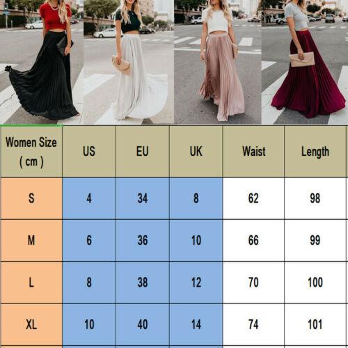 High Waist Skirt Pleated Long Plus Size Ladies Autumn Spotted Women/'s Strech