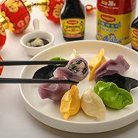 年菜 | 美极五彩海鲜水饺的做法图解8