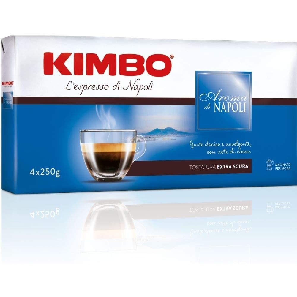 Kimbo Ground Coffee Aroma Naples (4 packs 250g)