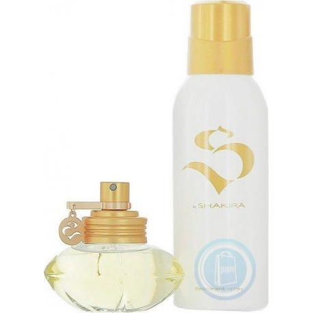 S BY SHAKIRA EDT 50ML SPRAY + DEODORANT SPRAY 150ML