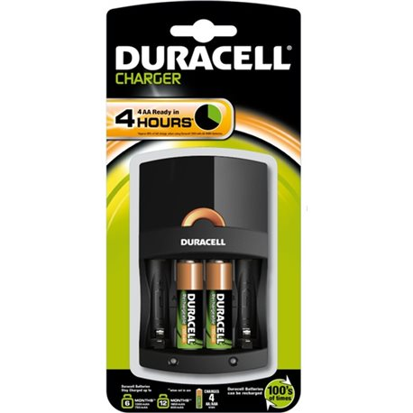 BATTERY CHARGER HR06/HR03 + 2AA 1300 VALUE DURACELL