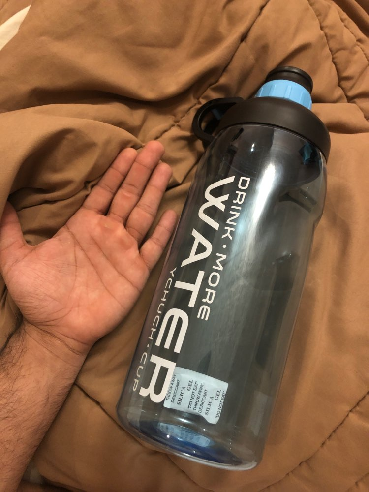 2000ml Large Capacity Water Bottles BPA Free Gym Fitness Kettle Outdoor Camping Picnic Bicycle Cycling Climbing Shaker Bottles-in Water Bottles from Home & Garden on AliExpress