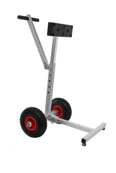 Trolley for motor collapsible