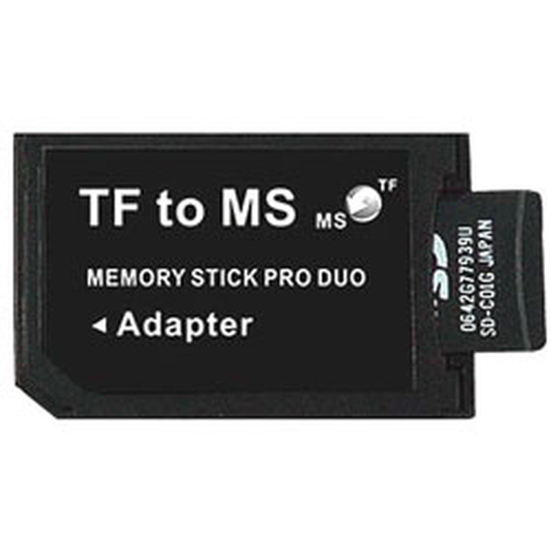 Card Converter MicroSD/MicroSDHC To Memory Stick Pro Duo Card (compatible PSP)